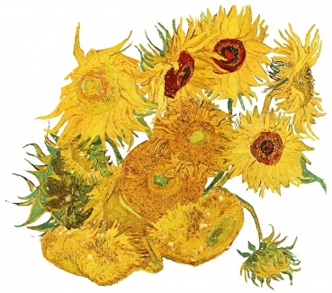 Sonnenblumen | Vincent van Gogh | Sunflowers | Spreadshirt Jack Joblin Design